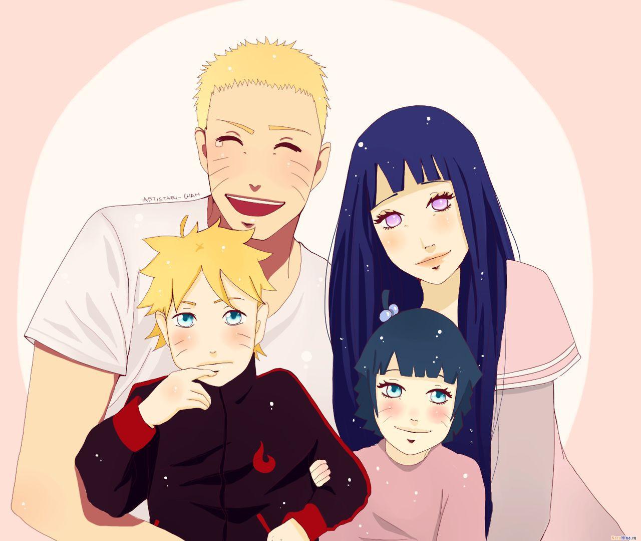 Картинки семья узумаки